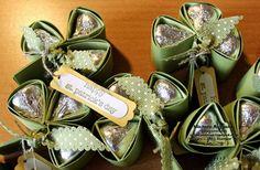 #HersheysKisses #CandyHolders #TeenyTinyWishes #clovers #shamrocks #StPatricksDay