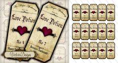 http://vectoriadesigns.deviantart.com/art/Printable-Love-Potion-Labels-351987650