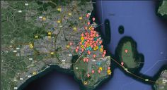 Gamle-dage's link kort, til steder som GD har besøgt eller skrevet om.. #Kort #LInks
