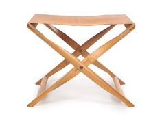 Kaare Klint - these are great luggage racks.  I like the full piece of leather