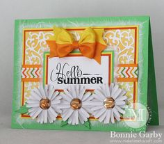 Really Reasonable Ribbon New Summer Themed Challenge – Make Time to Craft