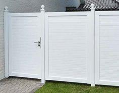 Fence Doors, Fence Gate, Garage Doors, Fences, Hampton Garden, Front Fence, Front Porch, Driveway Gate, Outdoor Spaces