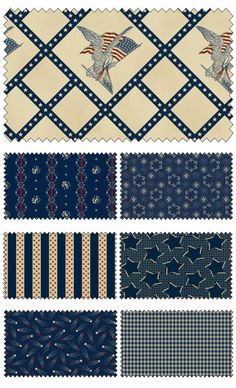 Americana by Carrie Quinn for Penny Rose Fabrics—Subscribe to our newsletter at http://www.rileyblakedesigns.com/newsletter/