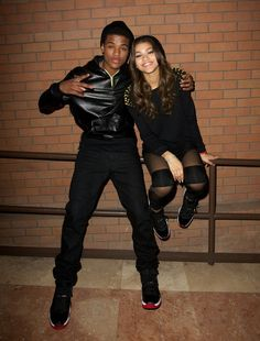 Stars from KC undercover!! Such a cute couple awwe.......(current Boyfriend) might break up not sure k don't worry