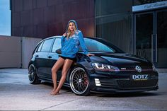 DOTZ Revvo dark on Golf VII GTI
