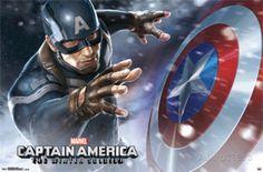 Captain America 2 - Shield Poster at AllPosters.com