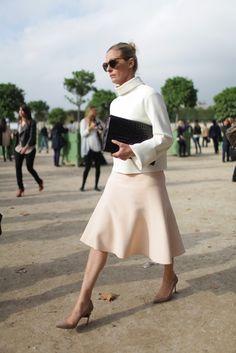 Paris Fashion Week 2014 #streetstyle