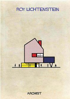 Roy Lichtenstein From Archist by Federico Babina