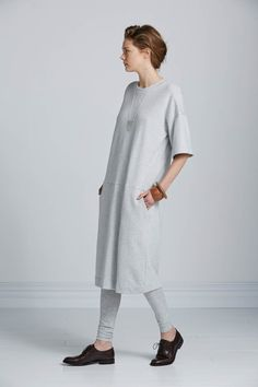 Daytime Dress by Kowtow. Ethical organic cotton.