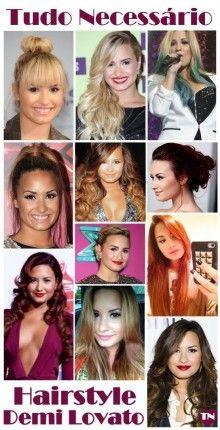 Demi Lovato #TN #HAIR
