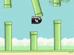 this is my dream #flappybird #gif