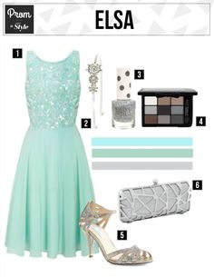 Did the cold never bother you anyway? You might want to take inspiration from Elsa then for your prom fashion.