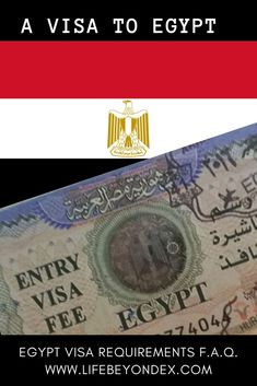 Up-to-date Egypt visa regulations and requirements. Who needs a visa to Egypt? Do I need a visa to Egypt? Can I get a visa on arrival? What about E-visa to Egypt? How much is Egypt visa? Egypt visa fees. What if I break my visa to Egypt? Read answers to these questions from www.lifebeyondex.com Everything about visa to Egypt. Step-by-step instructions for E-visa to Egypt. How to get a visa on arrival. An Egypt visa. #Egypt #Egypte #Ägypten #visatoegypt #visitegypt #myegypt #evisa #travelegypt Egypt Information, Passport Information, Travel Advise, Travel Tips, Hurghada Egypt, Passport Number, Visit Egypt, Egypt Travel, Step By Step Instructions
