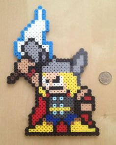 8bit Thor by EightBitArt on Etsy, $15.00