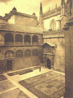 Capilla Real Placeta 1944. Granada Granada Spain, Barcelona Cathedral, Louvre, Architecture, Building, Places, Travel, Crafts, World
