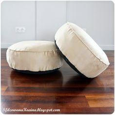 Floor pillows, floor cushions