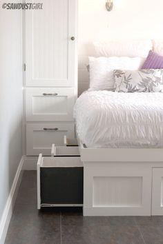 Small Bedroom Built-ins