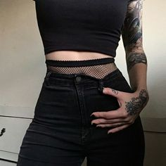tattoo, black, and fashion image
