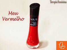 Terapia Feminina: Esmalte da Vez: Meu vermelho da Vult!