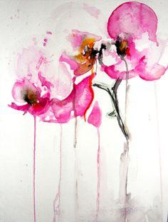 "Karin Johannesson, ""Orchid study IX"""