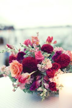red centerpiece |Pinned from PinTo for iPad|