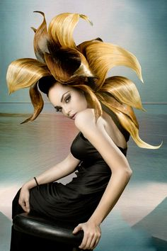 Avant-Garde Hair Color | NAHA Avant Garde Finalist Jose Julian Macrias Navarro on Avant Garde ... WOW!!!!!!