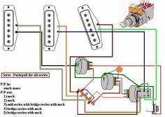 20 Best wireing guitars images | Guitars, Circuits, Vintage ... Fender Bullet Wiring Diagram on