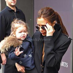 Harper Beckham baby fashion