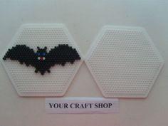 Halloween bat hama  beads