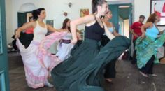Mickela attends a bomba class taught by the legendary Tata Cepeda (Old San Juan, Puerto Rico) - join us on our first Bare Feet™ Tour, May 9-12, 2013!