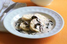 Czech Recipes, Salsa, Oatmeal, Stuffed Mushrooms, Vegetables, Breakfast, Food, The Oatmeal, Stuff Mushrooms