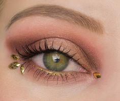 Festival Eye Make Up inspired by Jana Poehlmann