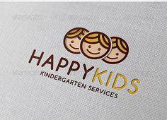 Download Free Happy Kids Logo Template