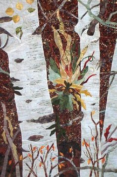 Woodland Spirits: Autumn, by David Taylor Quilts | Steamboat Springs, Colorado