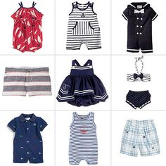 Nautical Baby Clothes THAT BATHING SUIT!!!!!! <3