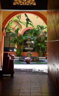 Hotel Melville Mazatlan Courtyard, Mexico