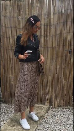 #howtowear #leopardprint #fashion #longdress #printables #small #messenger # What I Wore, Everyday Fashion, Midi Skirt, Gucci, Neckline, Printables, My Style, Skirts, Dresses