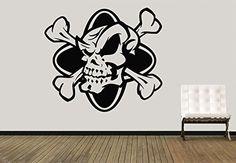 Vinyl Wall Decal Sticker Pirates Symbol Skull Bones Street Art Bedroom A14 Sticker'Shop http://www.amazon.com/dp/B01959ZCPO/ref=cm_sw_r_pi_dp_VsvAwb0P9ZS91