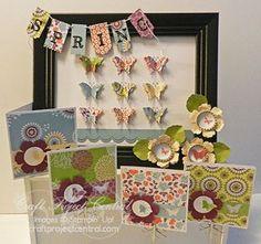 Spring Framed Art & Cards!