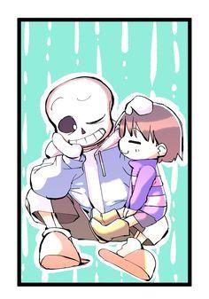 Frans | Frisk x Sans || Undertale || By Sunny5518 (Tumblr) Undertale Ships, Undertale Cute, Baby Sans, Sans Frisk, Frans Undertale, Underswap, Cute Drawings, Anime, Wattpad