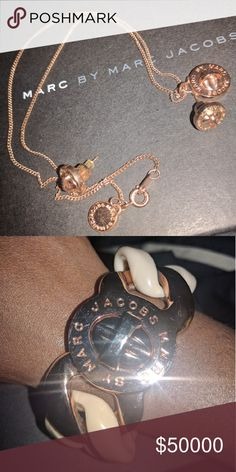 Additional pictures of Mj set Additional photos of Marc Jacobs set Jewelry