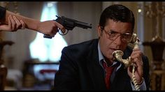 """Jerry Lewis in """"King of Comedy"""" (Martin Scorcese, 1983). Hundsome even angry or scared."""