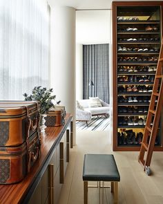 A Gentleman's Closet: Tribeca Triplex by Amy Lau Design | Home Adore