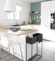 Scandinavian Kitchen, Minimalist Decor, Architecture Design, Kitchen Design, Sweet Home, New Homes, House Design, Interior Design, Furniture