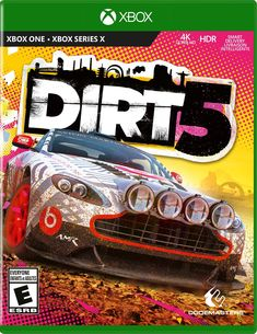 DiRT 5 Xbox 1, Playstation, Nordic Games, Troy Baker, Xbox One Games, Ps4 Games, Trophy Truck, New Star, New Chapter