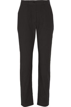 Étoile Isabel MarantIlia cotton-poplin straight-leg pants