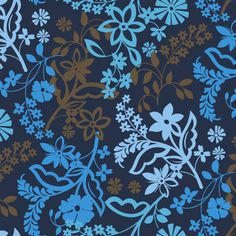 Our newest pattern: Java Floral. Learn when you can shop the Java Blue-inspired… Vera Bradley Patterns, Wallpaper Backgrounds, Iphone Backgrounds, Blue Wallpapers, Iphone Wallpapers, Phones For Sale, 6 Month Old Baby, Vera Bradley Handbags, Wallpaper For Your Phone