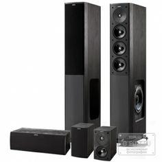 Комплект акустики Jamo S 608 HCS 3 black ash