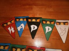 mycreativedays: Lego Ninjago Birthday Party