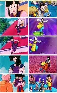 Chichi and Goku Vegeta And Bulma, Wolf Children, Cute Pokemon Wallpaper, Dragon Ball Gt, Neon Genesis Evangelion, Chi Chi, Doujinshi, Rosario Vampire, Milk